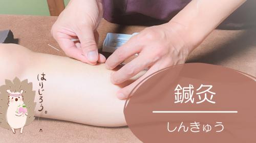 鍼灸、はり、きゅう、鍼灸治療